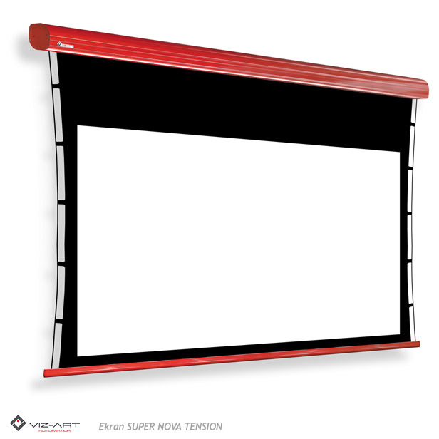 tensioned screen projection