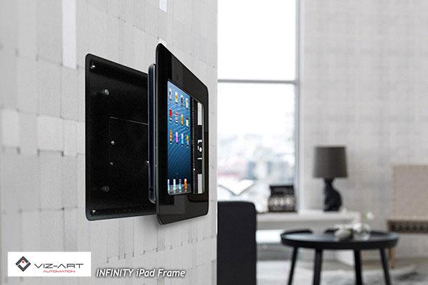 INFINITY – iPad Frame | Viz-Art Automation