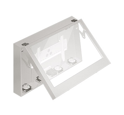Outdoor enclosure for LCD