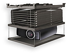 Lift for professional projectors