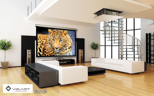 Projector And Screen For Your Living Room